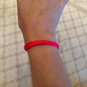 Pink pura vida bracelet